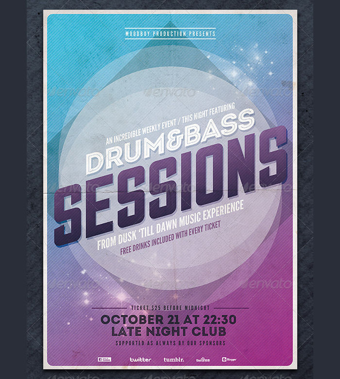 Club Event Flyers  Design Trends  Premium Psd Vector Downloads