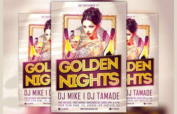 Night Party Event Flyer