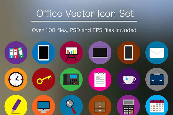 office icons psd
