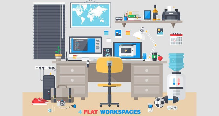 office interior workspace design