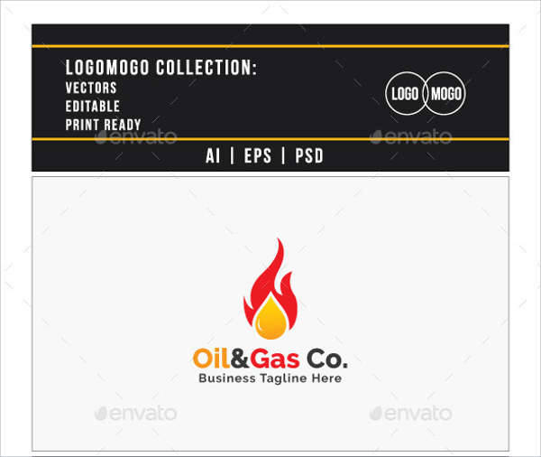 oil gas company logo