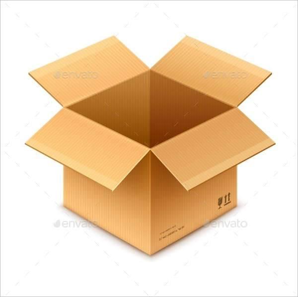 Open Box Cardboard Packaging