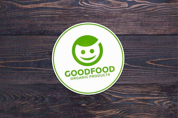 organic food company logo