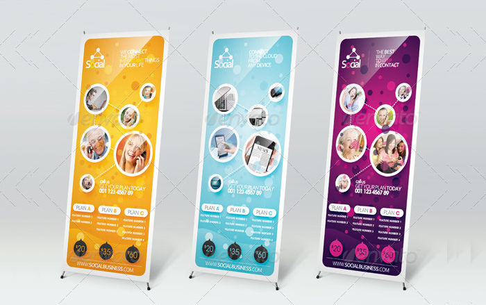outdoor banner signage