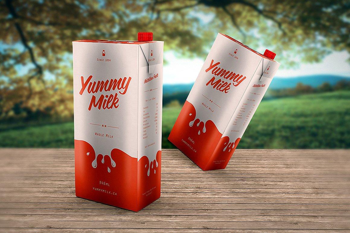 package milk box