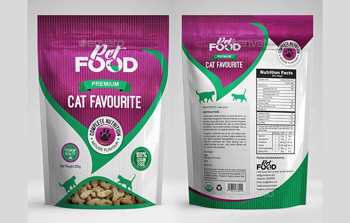 pet food bag packaging