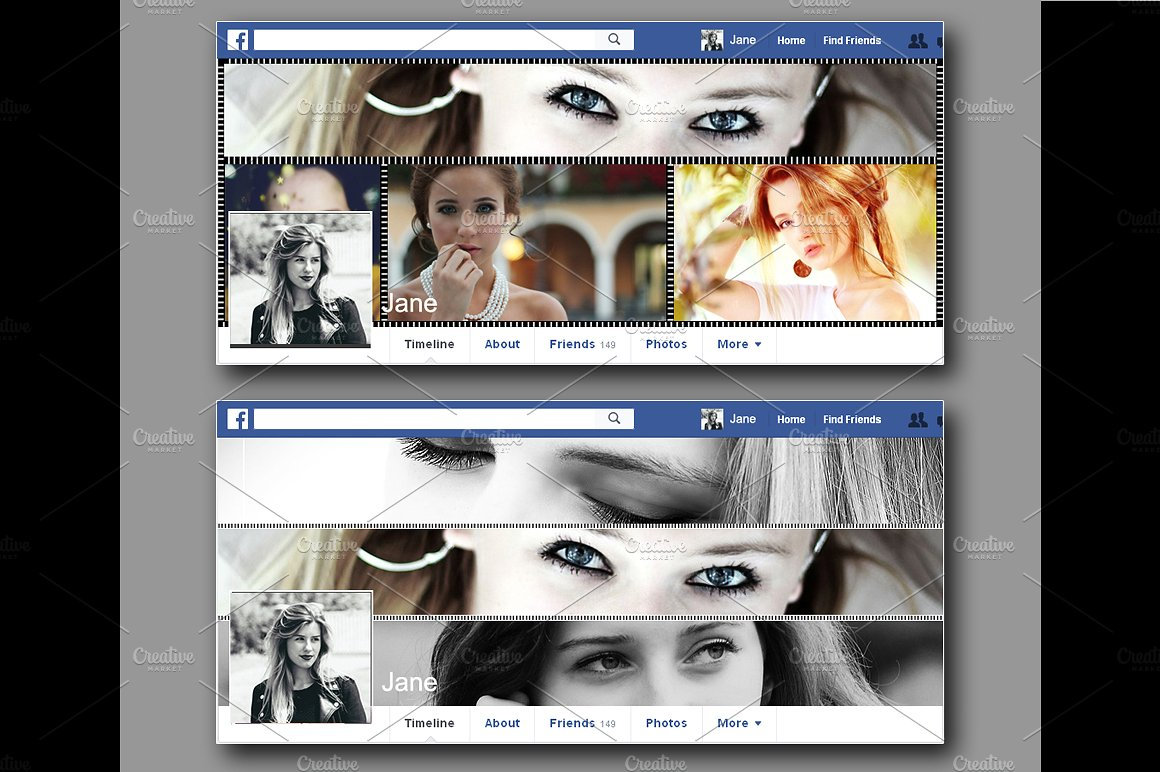 photo collage facebook covers