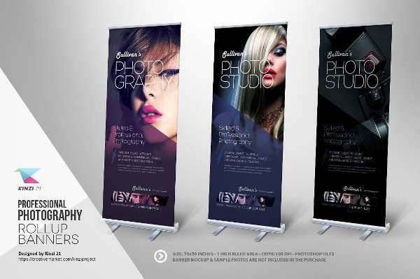 photography ad banner