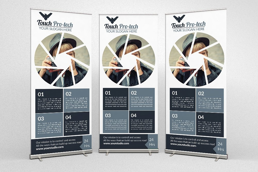 Photography Business Roll Up Banner