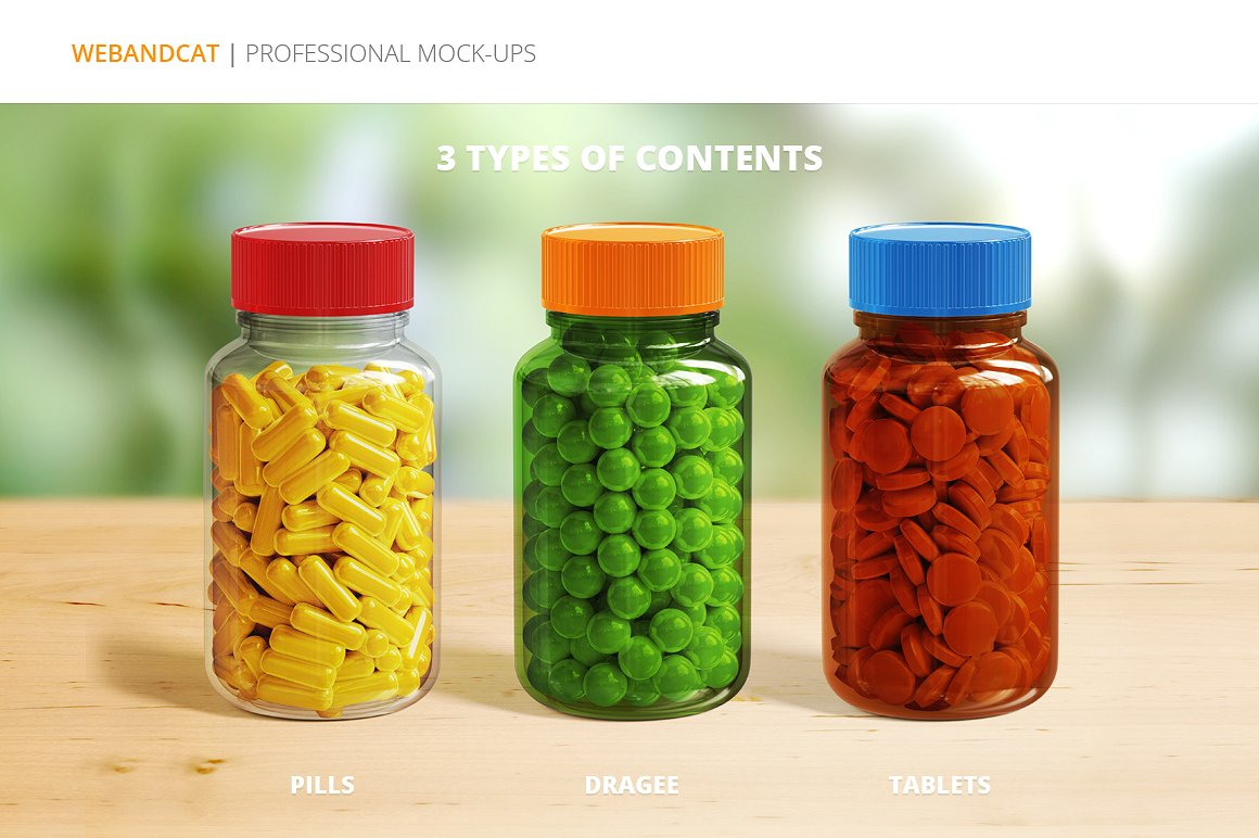 pills bottle packaging