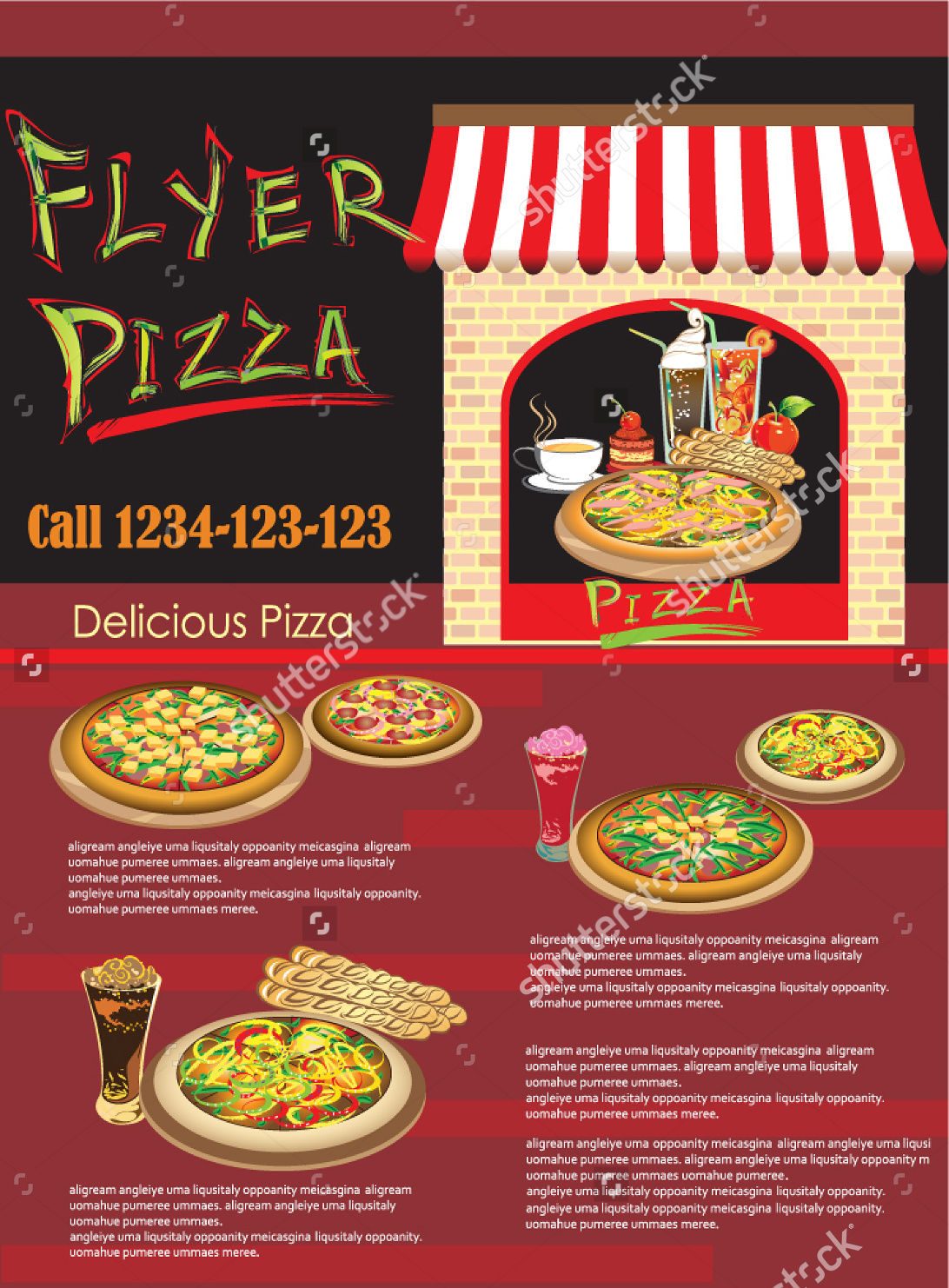 Pizza and Food Flyer
