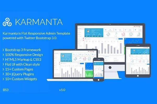 premium admin panel template