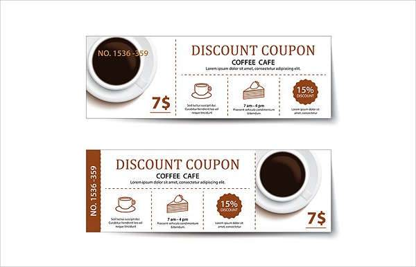 Printable Coffee Coupon Template