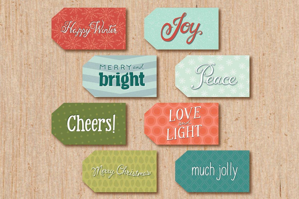 printable gift tag design