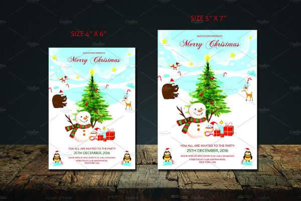 Printable Holiday Invitation