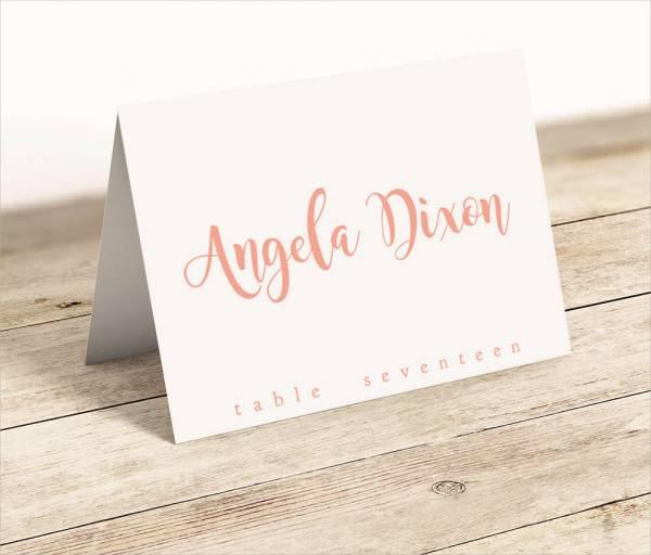 Printable Name Card
