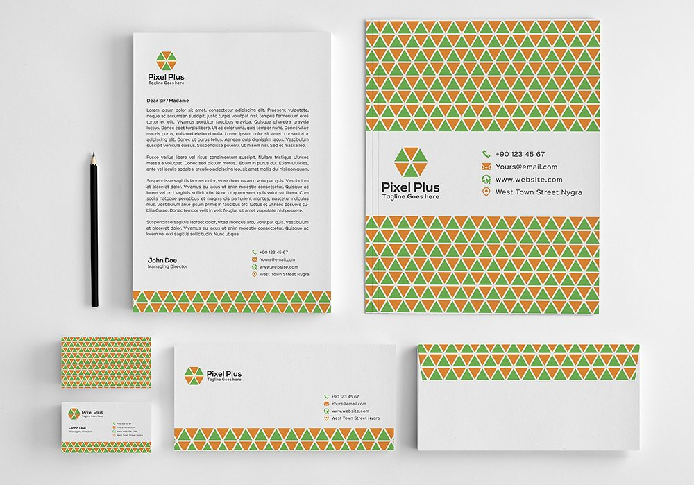 printable stationery design
