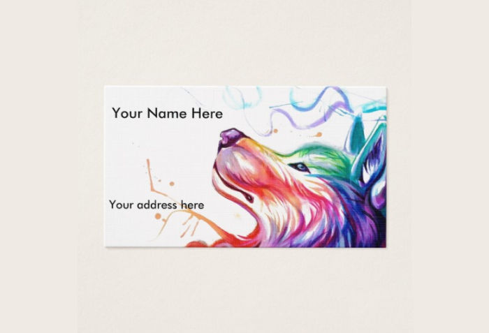 printable watercolor appointment card