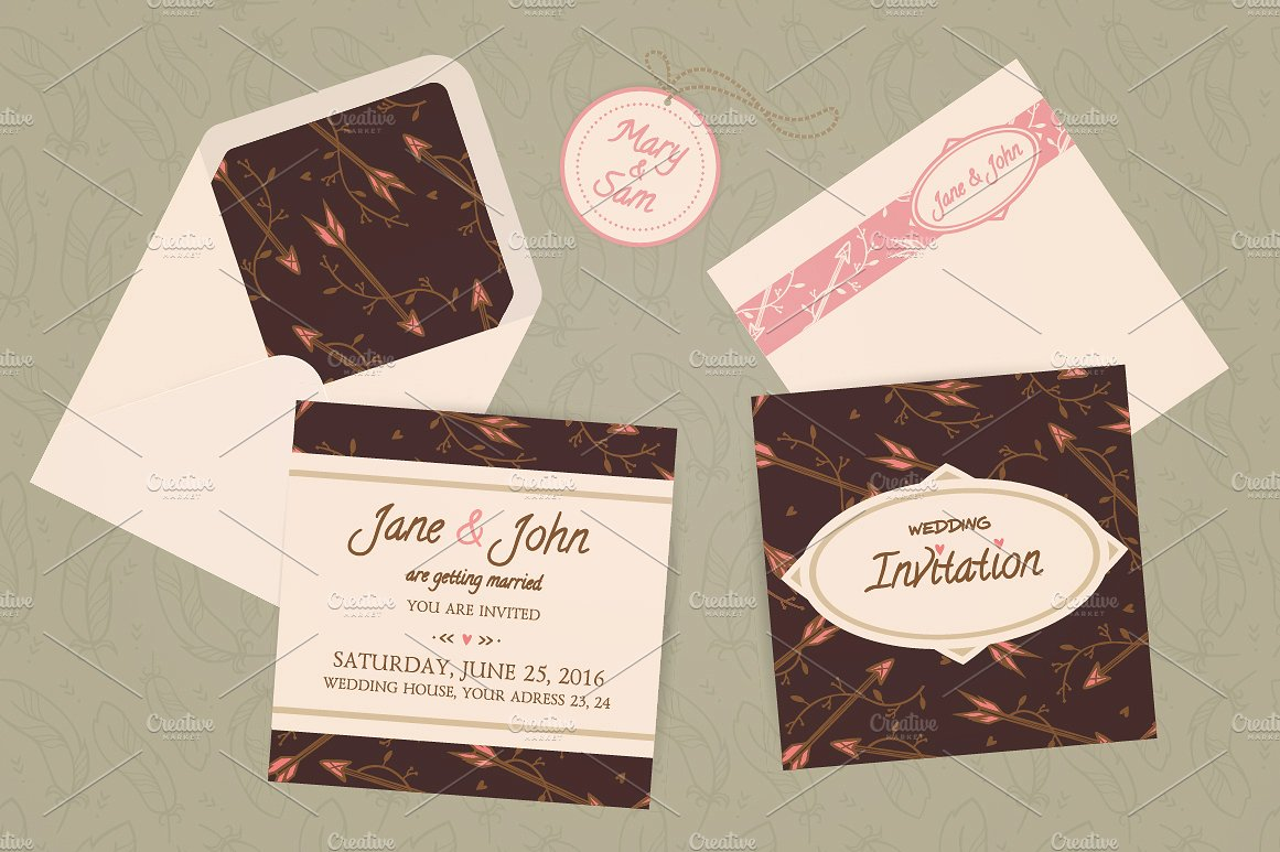 printable wedding envelope