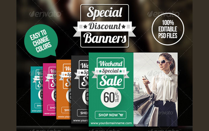 Product Discount Banner