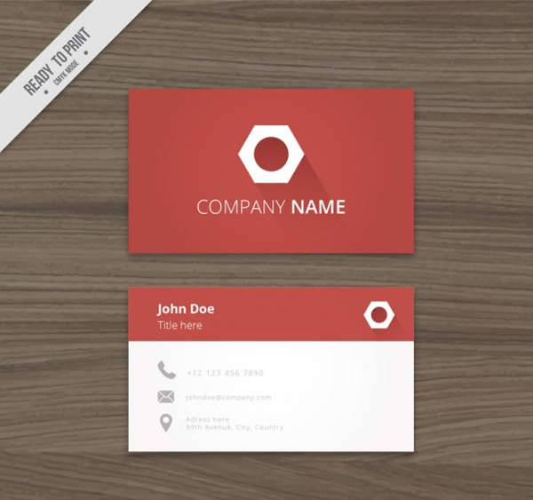 professional business card logo