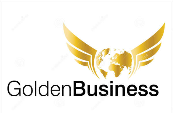 professional business gold logo