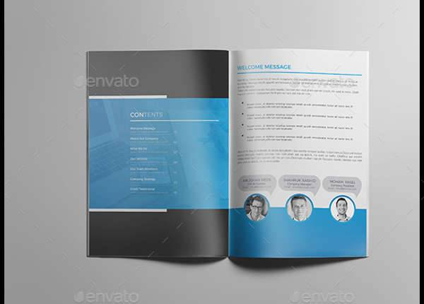 Professional Corporate Business Catalog