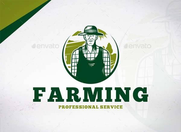 professional farmer logo