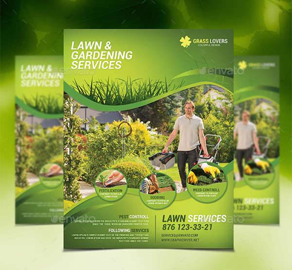 Professional Lawn Service Flyer
