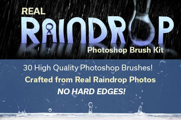 rain drop brushes