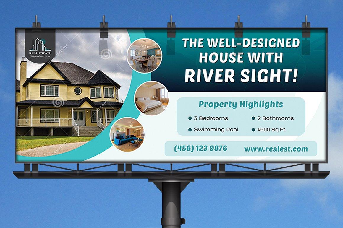 real estate banner design