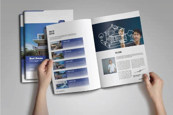 real estate product catalog