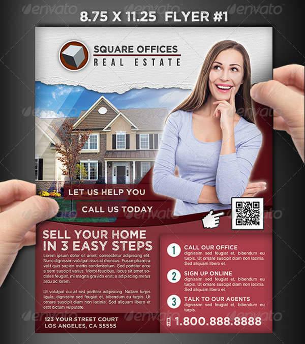 Real Estate Services Flyer Set