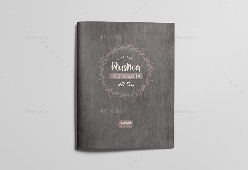 restaurant food menu packaging