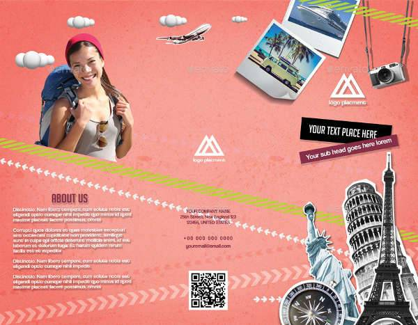 Retro Style Travel Company Brochure