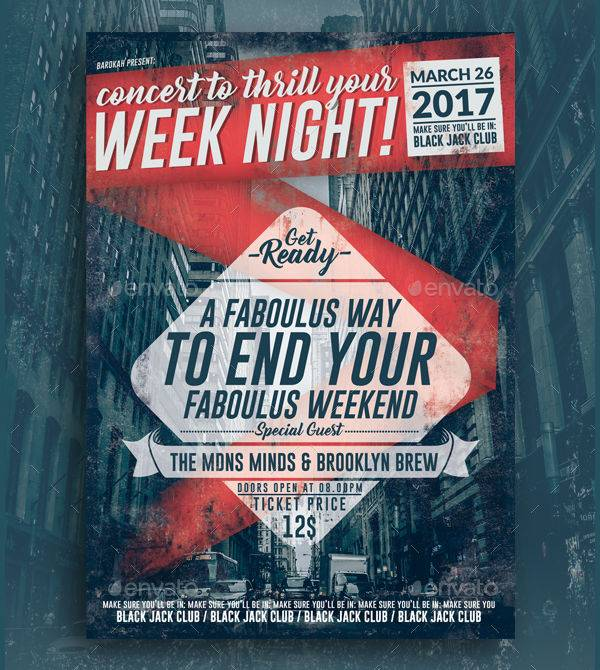 Retro Week Night Concert