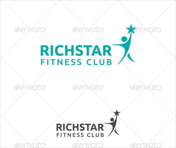 Richstar Fitness Club Logo