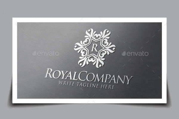 Royal Company Logo Template