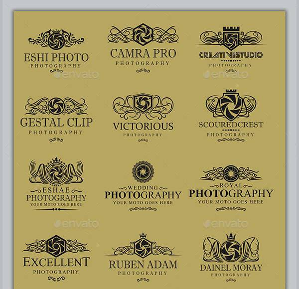 royal photography logos badges design