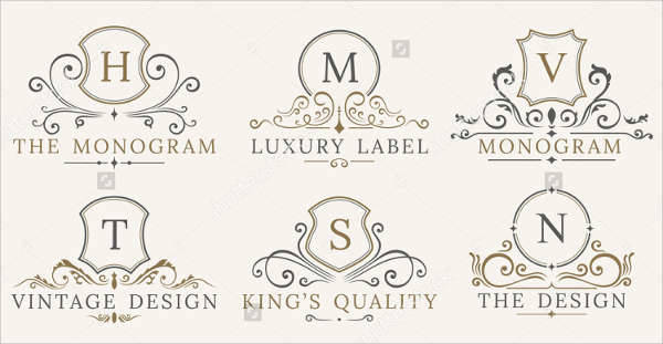 royal vintage business logo