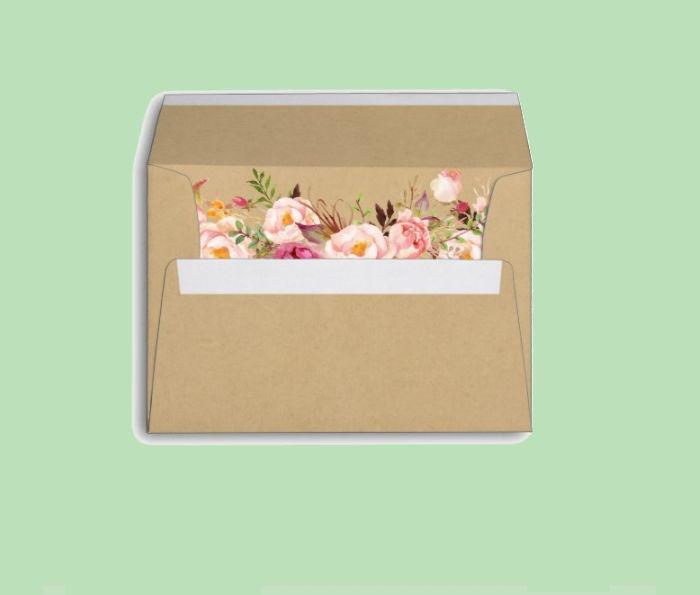 Rustic Envelope
