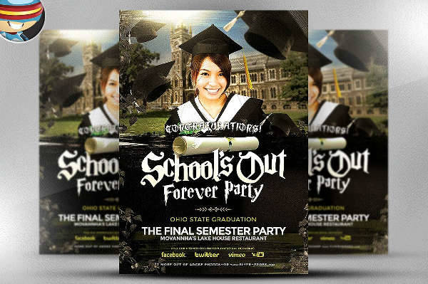 School's Out Forever Flyer
