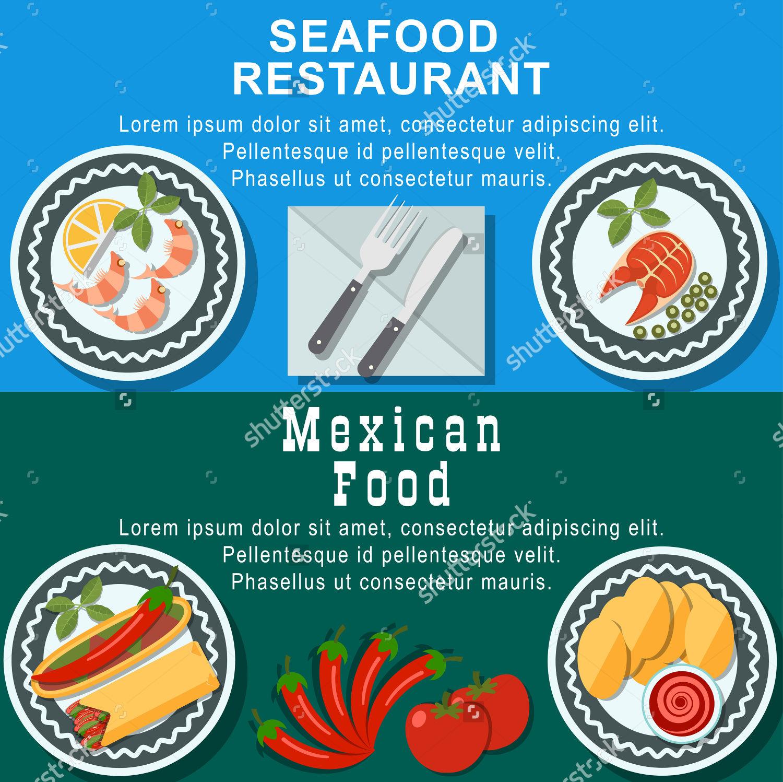 sea food restaurant web banner