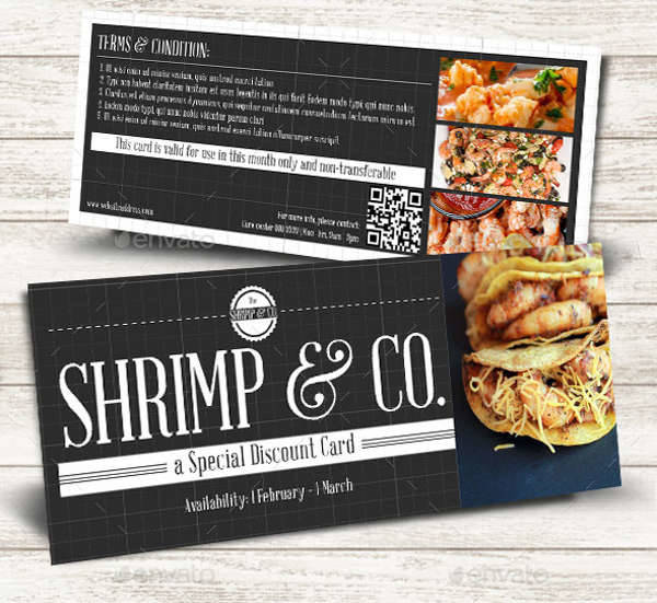 Seafood Cafe Coupon Set