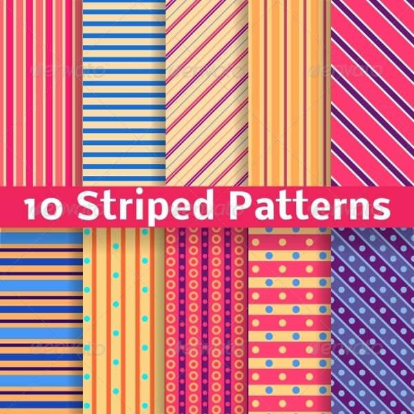 seamless striped patterns