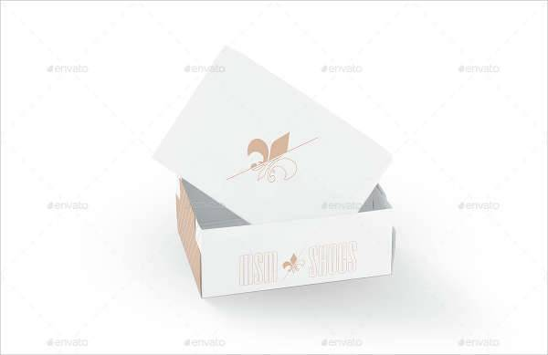 shoe box template