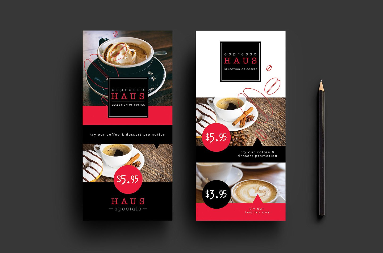 Simple Cafe Menu Design