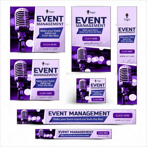 Simple Event Management Banner