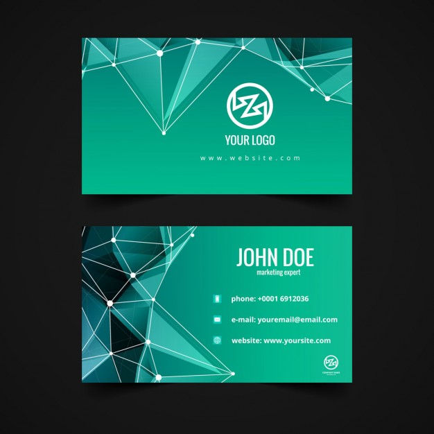 simple visiting card