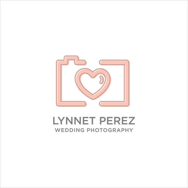 Simple Wedding Photography Logo